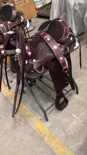 River blue saddles sillas de Monterrey NL. for Sale in Austin, TX
