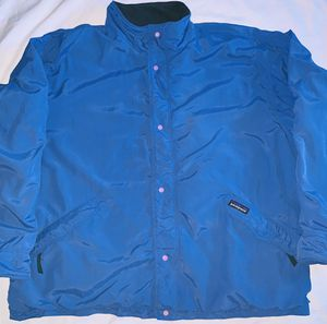 Vintage Patagonia Made In USA Blue Jacket Mens XLarge 90s Fleece Lined Overcoat for Sale in San Leandro, CA