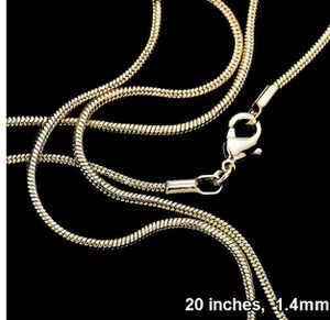 Gold Plated Snake Chain for Sale in Parkville, MD