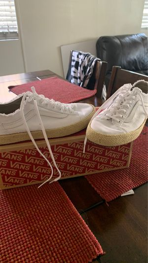 Vans size men 7.0 women 8.5 new for Sale in Los Angeles, CA