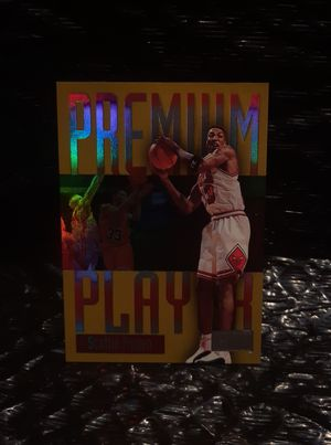 Flawless Gem Mint Scottie Pippen 1997-98 Skybox Premium Players Insert Card for Sale in San Jose, CA