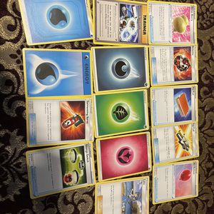 Pokémon's Trainer And Energy Cards for Sale in Fremont, CA