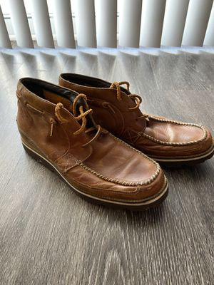 Cole haan leather chukka boots size 10.5 for Sale in Falls Church, VA