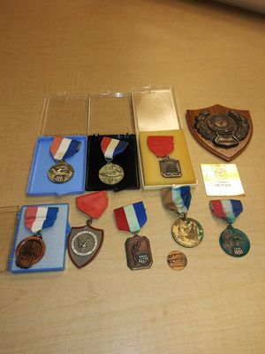 Swim meet medals from 1960 - 1964 from all over Ohio. for Sale in Cleveland, OH