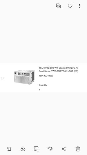 TCL wifi-enabled window AC units for Sale in Chicago, IL