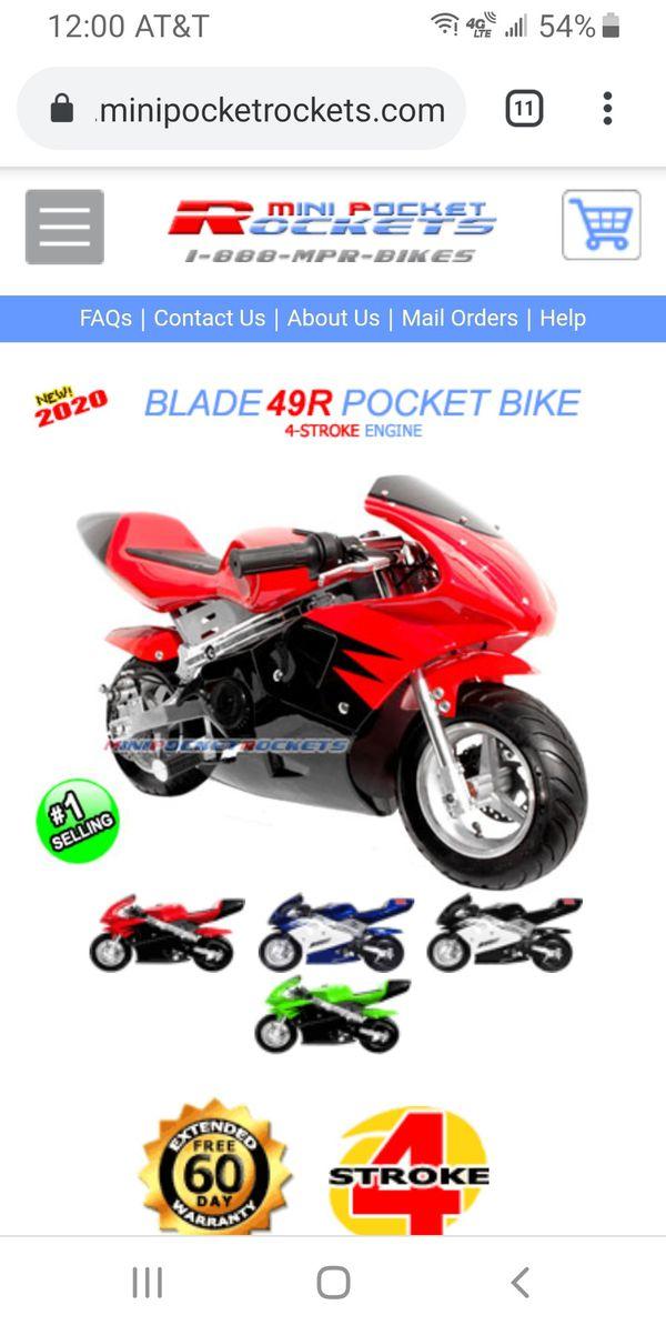 Mini bike pocket rocket