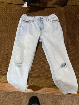 RSQ brand jeans from Tillys . Never worn skinny jeans girls size 8 for Sale in Miller Place, NY