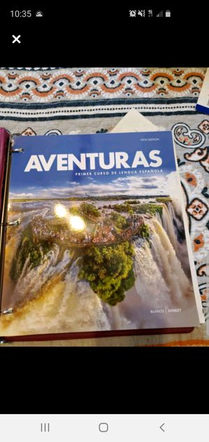 Aventuras 5th edition for Sale in Ruskin, FL