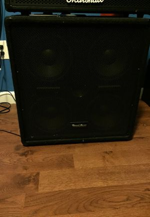 4x8 seismic audio bass cab for Sale in Tampa, FL