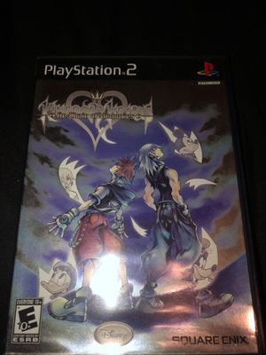 Kingdom hearts re chain of memories ps2 for Sale in Hayward, CA
