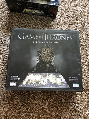 4D Game of Thrones puzzle for Sale in Long Beach, CA