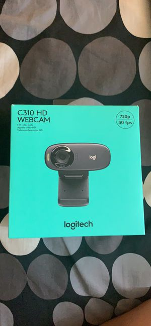Logitech C310 HD Webcam (New) for Sale in Austin, TX