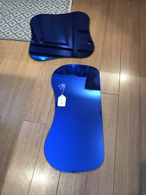 Blue glass for end tables for Sale in Walnutport, PA