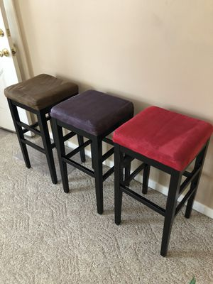 Backless bar and counter stools for Sale in West Richland, WA