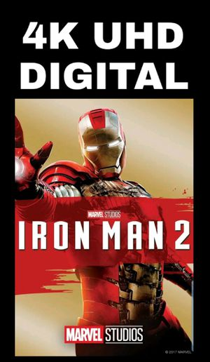 MARVEL IRON MAN 2 (4K UHD DIGITAL MOVIE CODE) **FREE SHIPPING**INSTANT DELIVERY HERE for Sale in Chula Vista, CA
