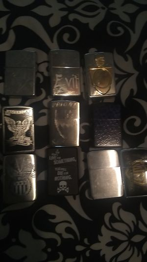 Zippo lighters for Sale in Farmers Branch, TX