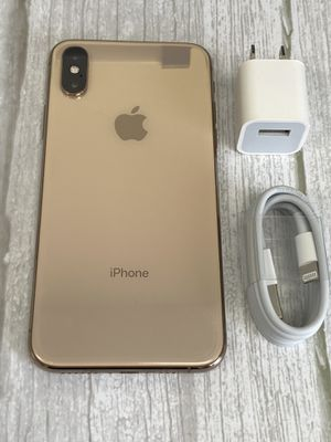 iPHONE XS - 64GB - GOLD AND BLACK - UNLOCKED !! 100% WORKING !! for Sale in Los Angeles, CA
