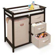 Badger Basket Modern Changing Table w/ Hamper & 3 Baskets for Sale in Bowie, MD