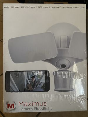 Floodlight Camera/ Maximus for Sale in Riverside, CA