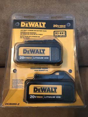 DEWALT 20 VOLTS MAX NEW for Sale in Lake Worth, FL