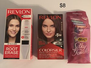 Brown hair color and bonus razors for Sale in Lexington, KY