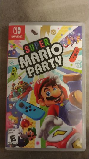 Super MARIO Party Nintendo switch game for Sale in Fort Worth, TX