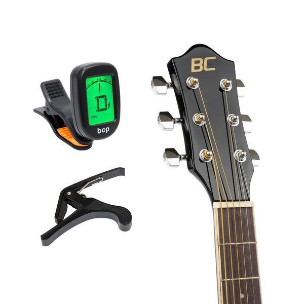 Acoustic electric cutaway guitar / with 10-watt Amp case
