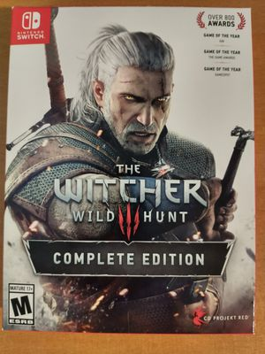Witcher 3 Complete Edition for Sale in Long Beach, CA