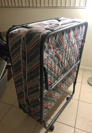 Folding guest bed (new) twin for Sale in Miami, FL
