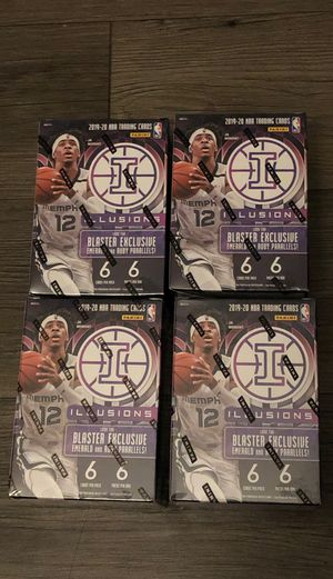 Illusions Blaster Box Exclusive NBA Cards - Sealed for Sale in Redlands, CA