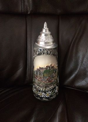1981 King Beer Stein Salzburg for Sale in Gig Harbor, WA