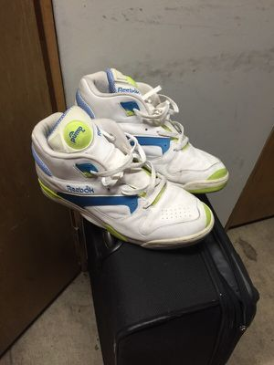 Reebok pumps David Chang tennis edition size 13 for Sale in Denver, CO