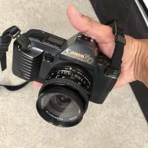 Canon T70 35mm Film Camera With 28mm Lens for Sale in Cerritos, CA