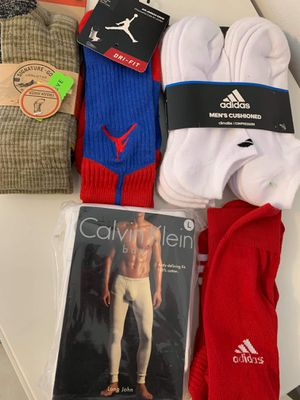 Mens socks and body defining fit. Calvin klein, adidas,.. for Sale in HALNDLE BCH, FL