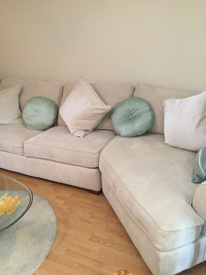 Larger couch with hidden sleeper bed for Sale in Cocoa, FL