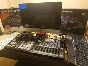 Complete recording studio Apple Imac protools flstudio logic waves final cut pro Ableton live 30,000 sounds for Sale in NC, US