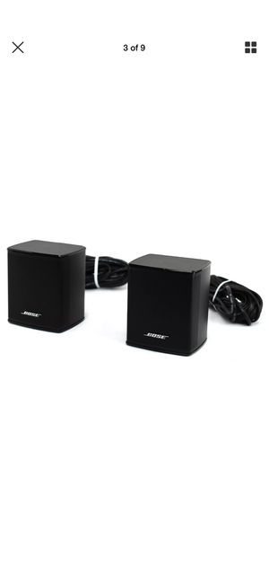 Bose Surrounding speakers wireless for SoundTouch 300 for Sale in Marysville, WA