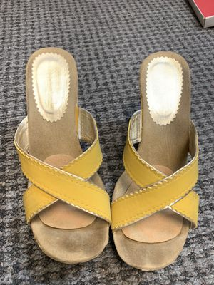Yellow heels for Sale in Dallas, TX
