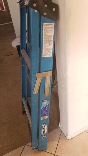 Werner 4ft ladder almost new, make offer for Sale in Avondale, AZ