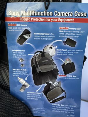 Sony Camera Case for Sale in Westminster, CO
