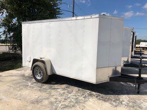 Cargo white 5x10cargo w barn door for Sale in Lancaster, TX