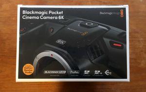 Blackmagic 6k brand new never used! for Sale in Santa Ana, CA