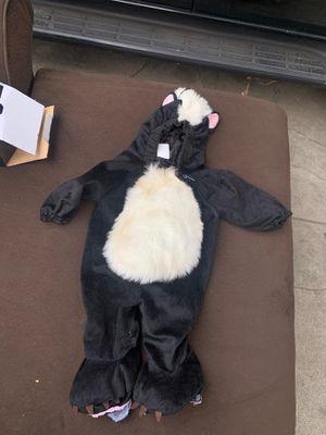 Skunk costume 6to 12 months $5 for Sale in San Bernardino, CA