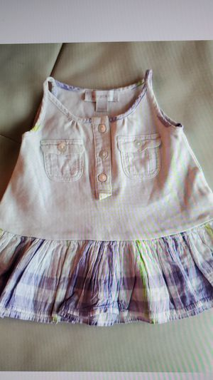 Dress Burberry 0 / 3 months purple baby kids girls for Sale in Miami, FL