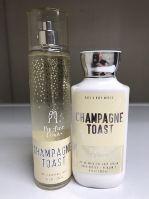 BATH & BODY WORKS CHAMPAGNE TOAST MIST AND LOTION for Sale in Redondo Beach, CA