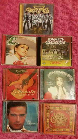 CD'S Mexican Music for Sale in Fresno, CA