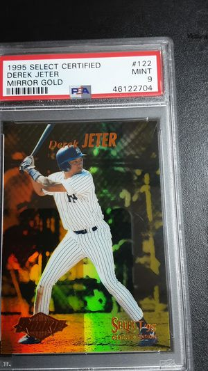 1995 select certified DEREK JETER MIRROR GOLD PSA9 for Sale in Garden Grove, CA