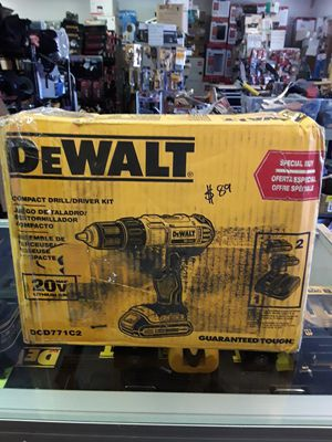 DEWALT 20-Volt MAX Lithium-Ion Cordless 1/2 in. Drill/Driver Kit with (2) 20-Volt Batteries 1.3Ah, Charger and Tool Bag for Sale in Glendale, AZ