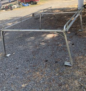 Aluminum Truck ladder/lumber rack for 8ft bed for Sale in Roy, WA