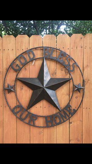 Estrella Grande de Metal for Sale in Houston, TX